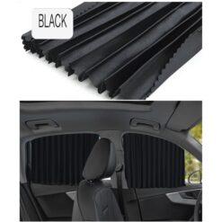 Rèm che nắng kính ô tô - Màu đen