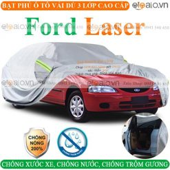 Bạt che phủ xe Ford Laser 3 Lớp Cao Cấp - OTOALO