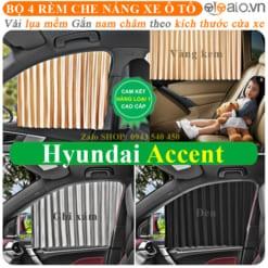 Rèm che nắng xe Hyundai Accent Cao Cấp - OTOALO