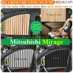 Rèm che nắng xe Mitsubishi Mirage Cao Cấp - OTOALO