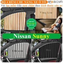 Rèm che nắng xe Nissan Sunny Cao Cấp - OTOALO