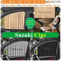 Rèm che nắng xe Suzuki Ciaz Cao Cấp - OTOALO