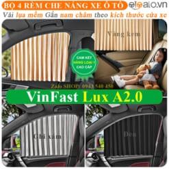 Rèm che nắng xe VinFast Lux A2.0 Cao Cấp - OTOALO