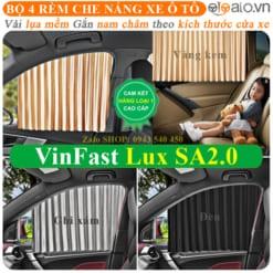 Rèm che nắng xe VinFast Lux SA2.0 Cao Cấp - OTOALO