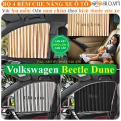 Rèm che nắng xe Volkswagen Beetle Dune Cao Cấp - OTOALO