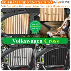 Rèm che nắng xe Volkswagen Cross Cao Cấp - OTOALO