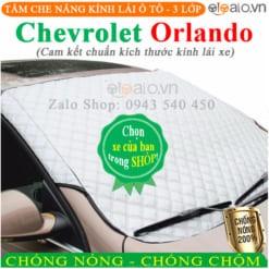 Tấm che nắng xe Chevrolet Orlando 3 Lớp Cao Cấp - OTOALO