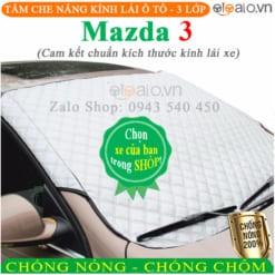 Tấm che nắng xe Mazda 3 3 Lớp Cao Cấp - OTOALO