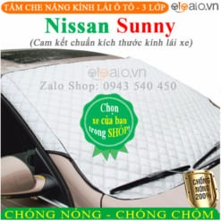 Tấm che nắng xe Nissan Sunny 3 Lớp Cao Cấp - OTOALO