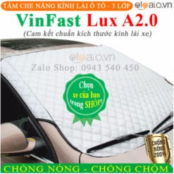 Tấm che nắng xe VinFast Lux A2.0 3 Lớp Cao Cấp - OTOALO