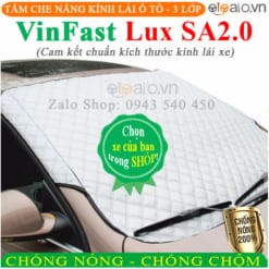 Tấm che nắng xe VinFast Lux SA2.0 3 Lớp Cao Cấp - OTOALO
