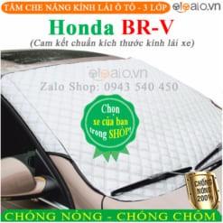 Tấm che nắng xe Honda BRV 3 Lớp Cao Cấp - OTOALO