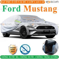 Bạt che phủ xe Ford Mustang 3 Lớp Cao Cấp - OTOALO
