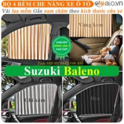 Rèm che nắng xe Suzuki Baleno Cao Cấp - OTOALO