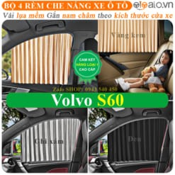 Rèm che nắng xe Volvo s60 Cao Cấp - OTOALO